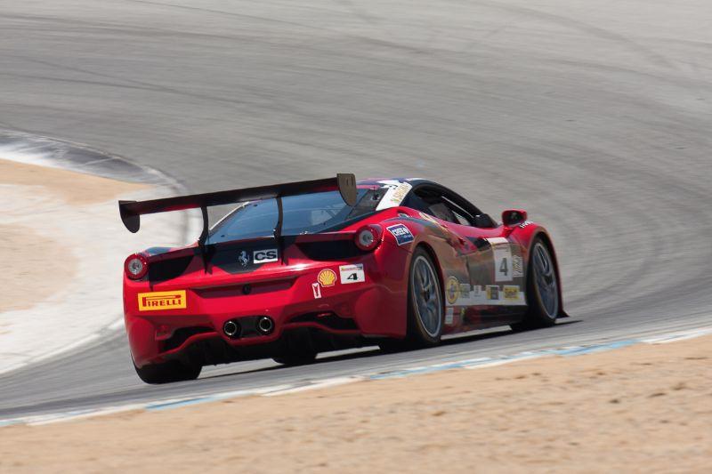 Chris Ruud enters Rainey Curve in the #4 Ferrari 458 EVO