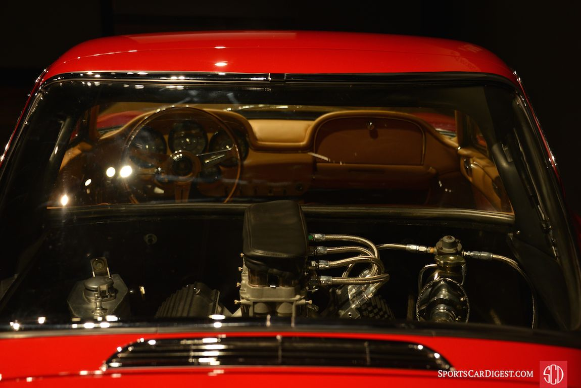 Not a bad view from inside the 1963 ATS 2500 GT