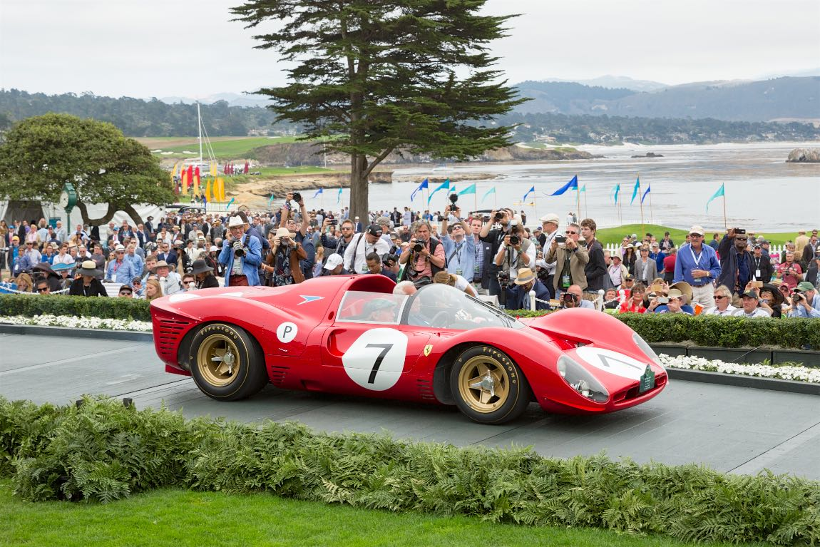 Class M-2: Ferrari Competition and Gran Turismo Trophy, 1966 Ferrari 330 P4 Drogo Spyder, Lawrence Stroll, New York, New York