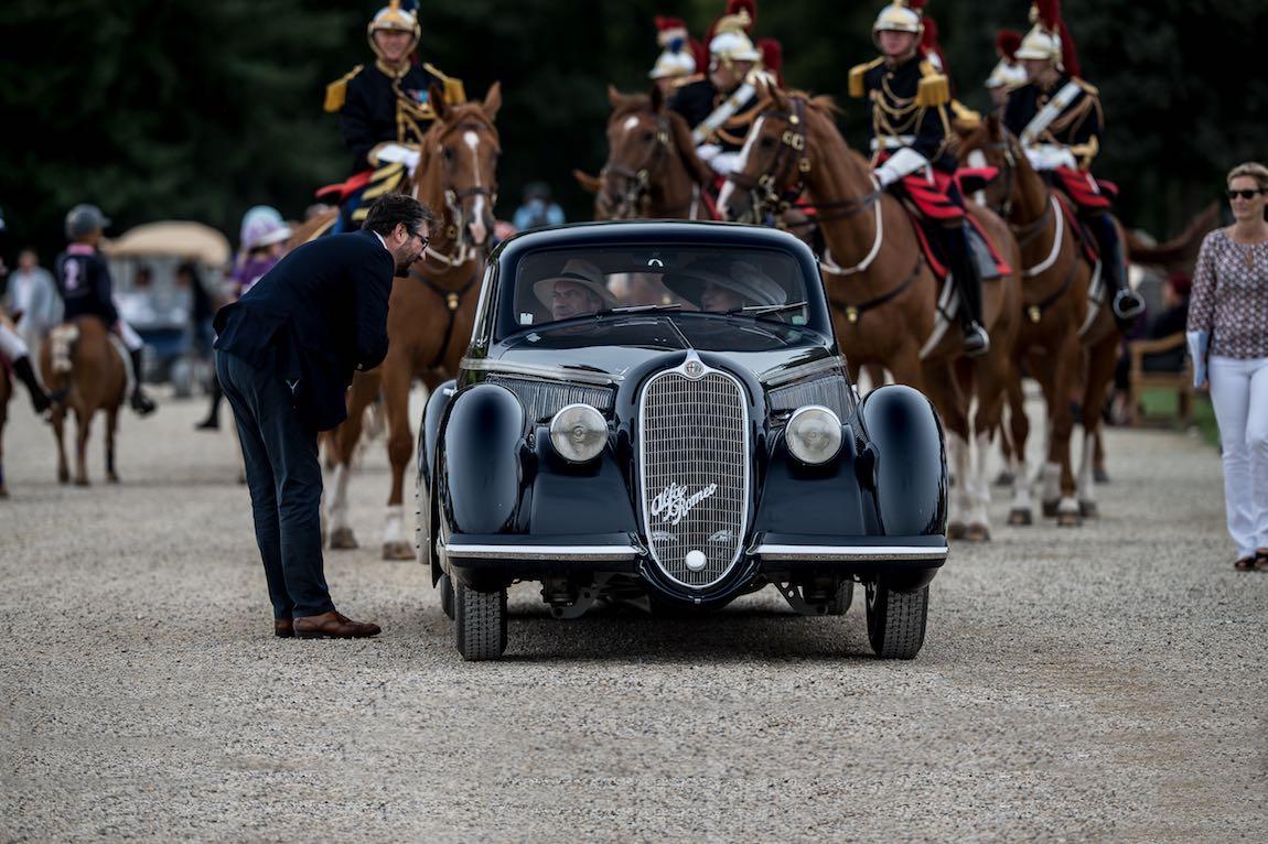 Best of Show Winner - 1938 Alfa Romeo 8C 2900B Lungo Berlinetta
