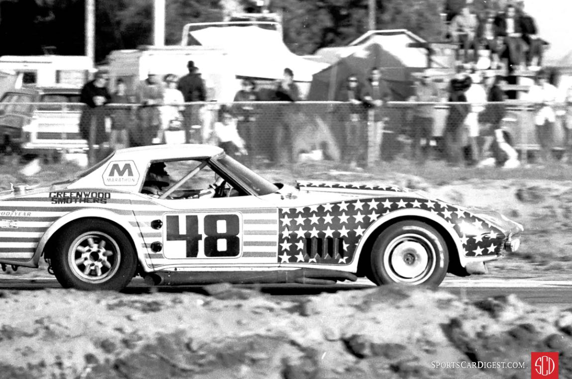 John Greenwood and Dick Smothers drove this Corvette to 7th overall (Photo: Louis Galanos)