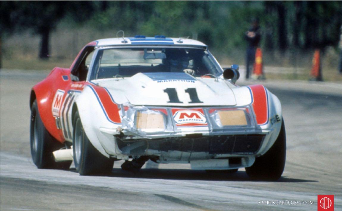 The Don Yenko, Tony DeLorenzo, Jerry Thompson Chevrolet Corvette (Photo: SIR Photos)