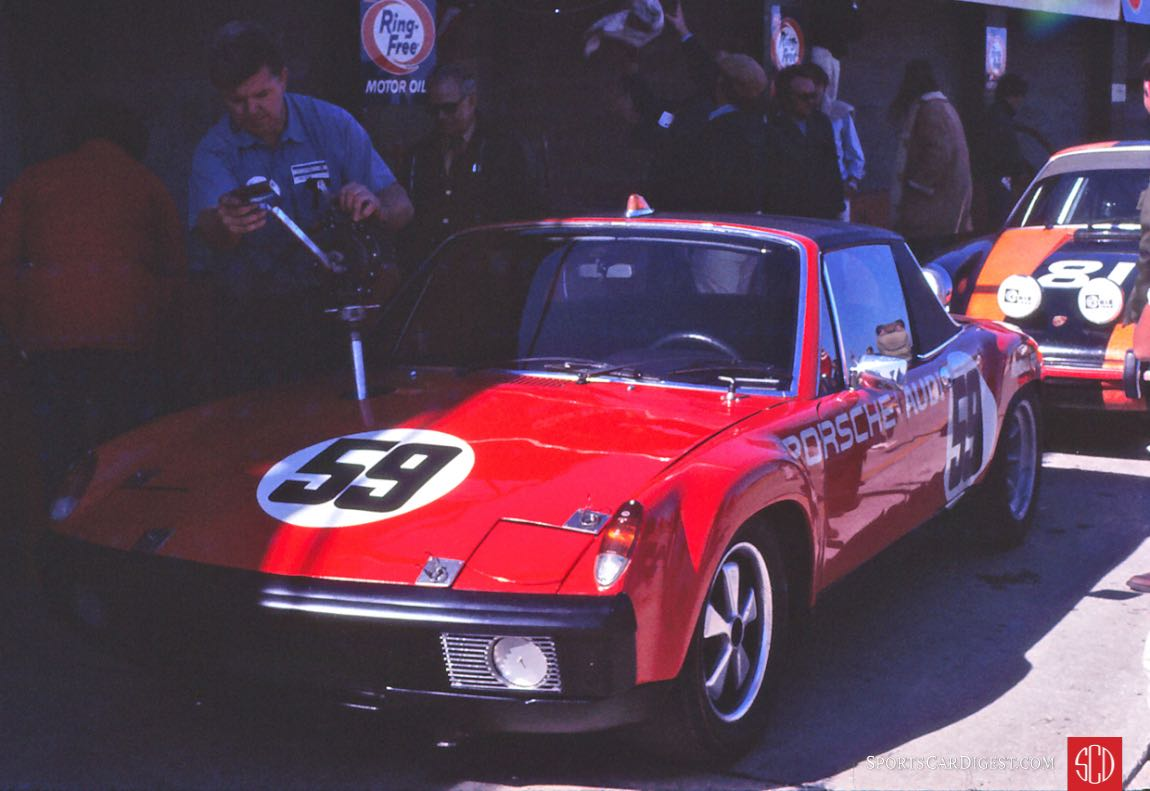The Brumos Porsche 914/6 of Peter Gregg and Hurley Haywood (Photo: Gene Bussian)