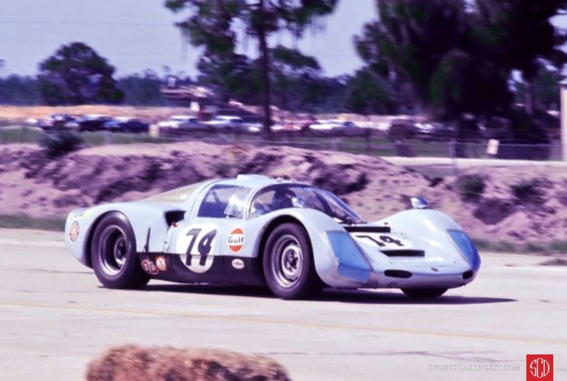 Merv Rosen and Dick Jacobs' Porsche 906 (Photo: Ken Breslauer)