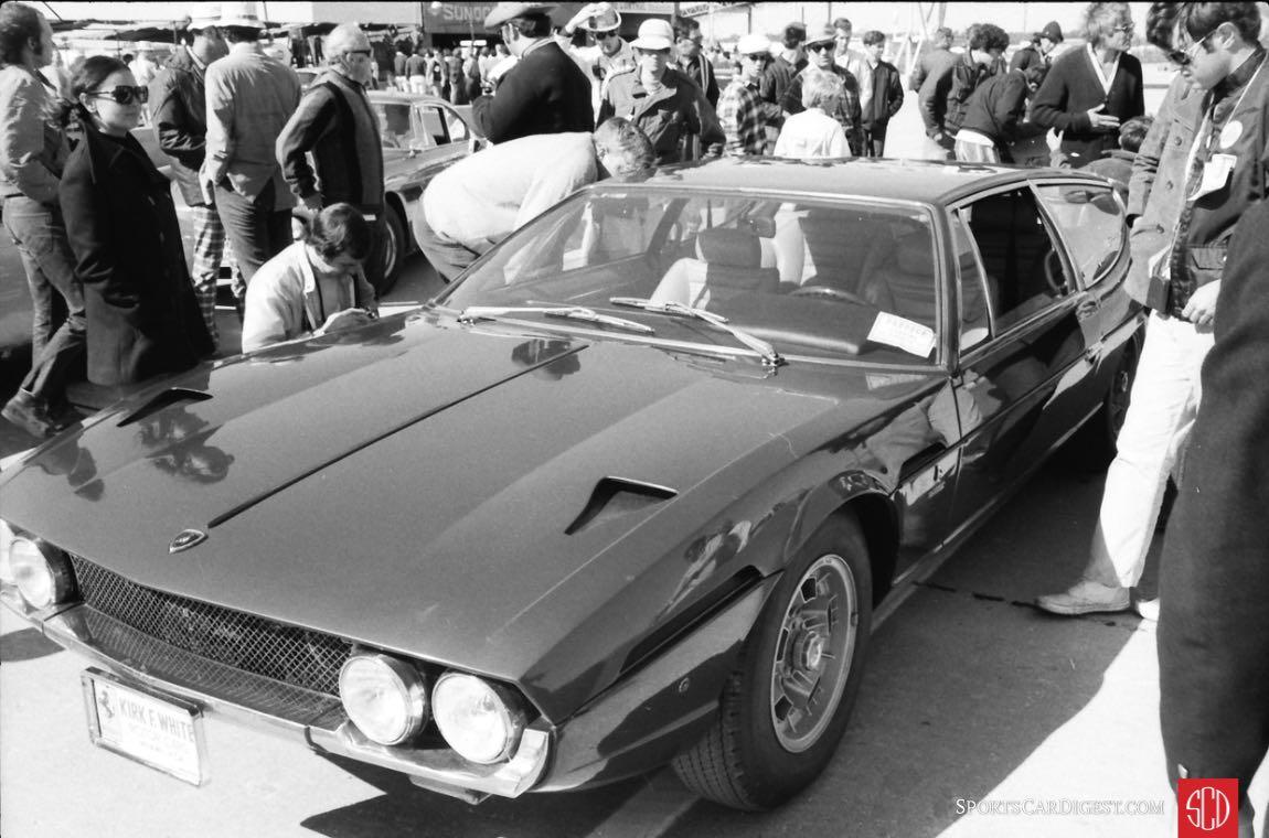 Kirk F. White's Lamborghini on display (Photo: Louis Galanos)