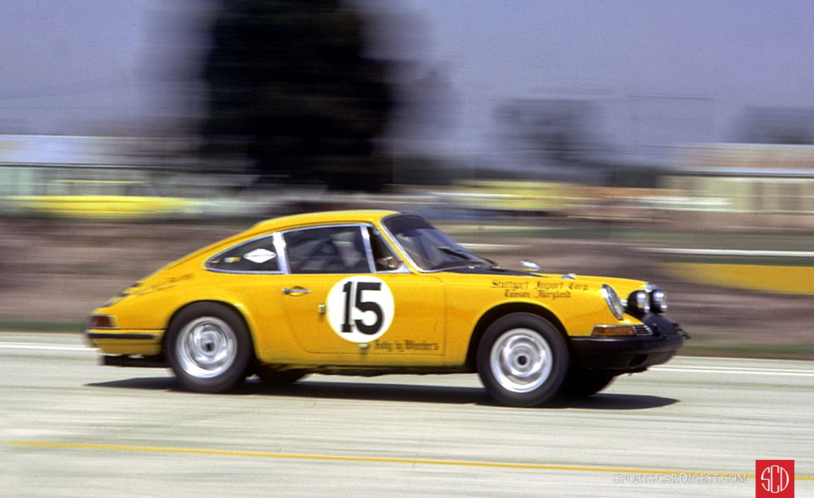 Keyser and Bruce Jennings retired on lap 23 (Photo: www.autosportsltd.com)
