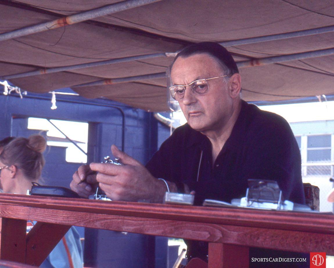 The genius behind J.W. Automotive, John Wyer (Photo: Gene Bussian)