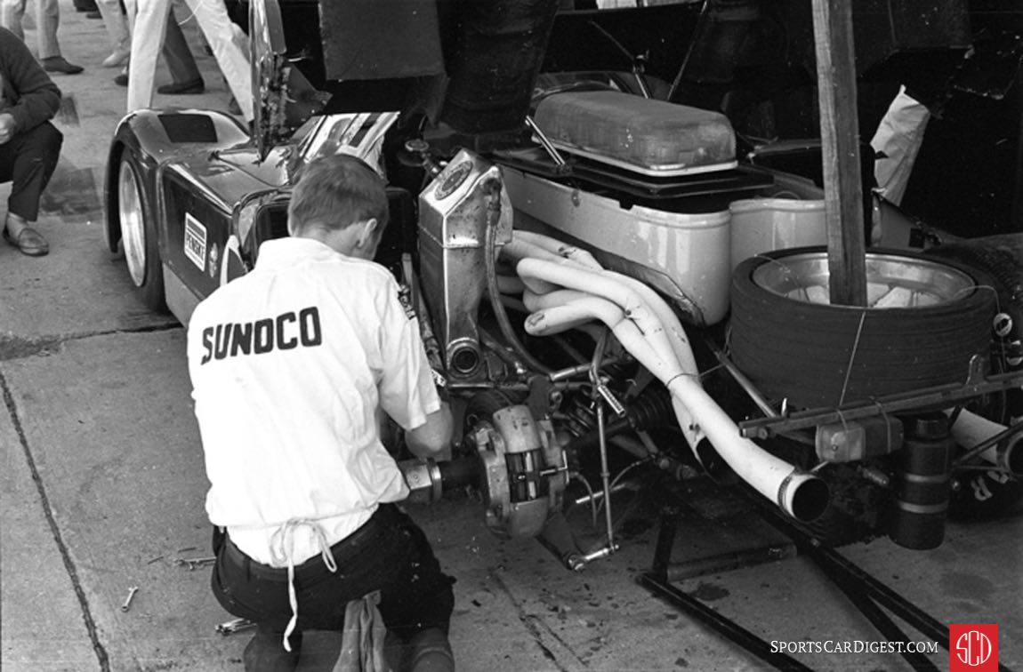 Damage to the fuel cell vent made refueling agonizing slow (Photo: www.autosportsltd.com)