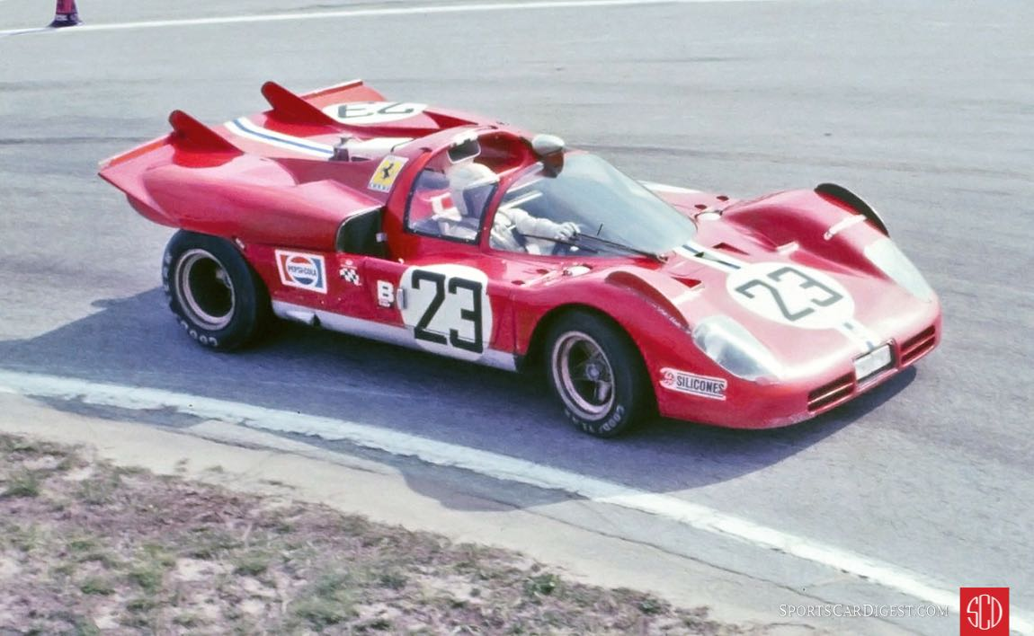 The Posey/Bucknum would soon retire with an oil leak after 114 laps (Photo: Ken Breslauer)