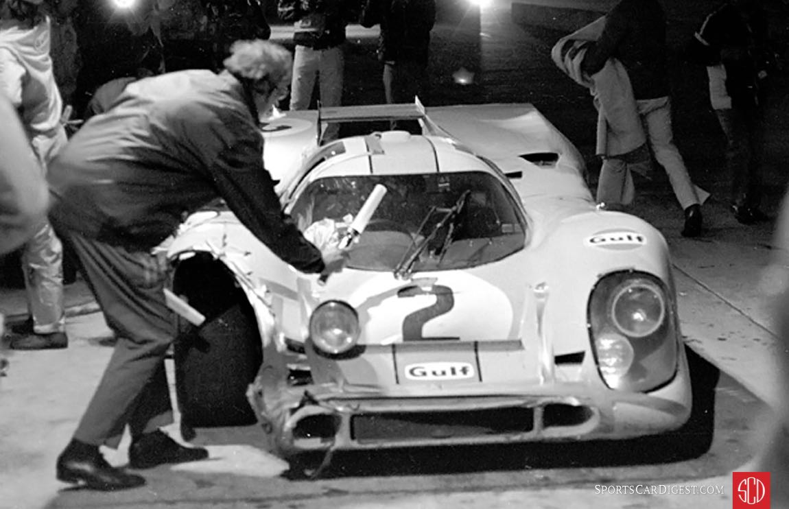 Jury-rigged lighting proved ineffective resulting in lost time (Photo: autosportsltd.com)