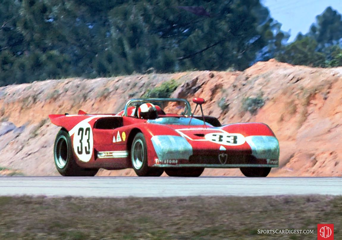 The Galli/Stommelen Alfa T33/3 would come in second overall (Photo: Louis Galanos)