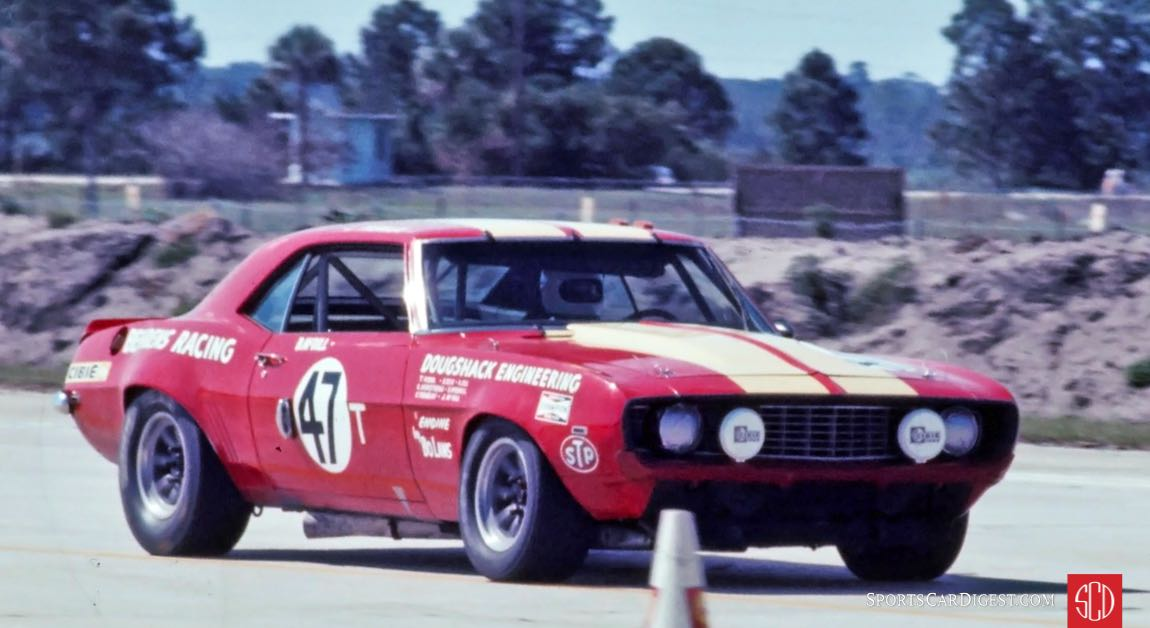 The Bruce Behrens Racing Camaro driven by John Tremblay and Bill McDill finished 1st in class and 13th overall (Photo: Ken Breslauer)