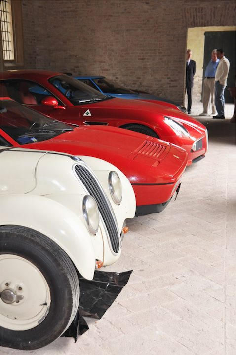 BMW 328, Ferrari 328, Alfa Romeo 8C Competizione, Lancia Stratos and Cisitalia D46