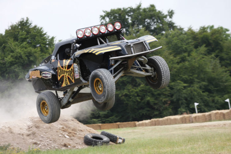 Jesse James and his amazing 7.2 liter Trophy Truck