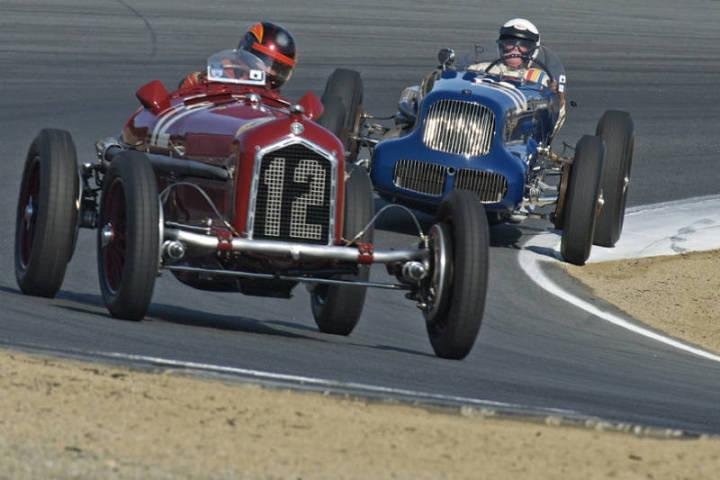 1932 Alfa Romeo P3 - Jon Shirley and 1938 Sparks Thome Little 6 - Joe Freeman