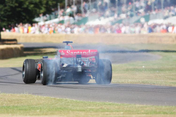 McLaren - Mercedes MP4/23 driven by Pedro de la Rosa