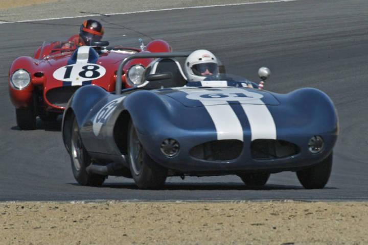 1959 Hagemann Sutton Special - Butch Gilbert and 1957 Ferrari 250 Testa Rossa - Jon Shirley