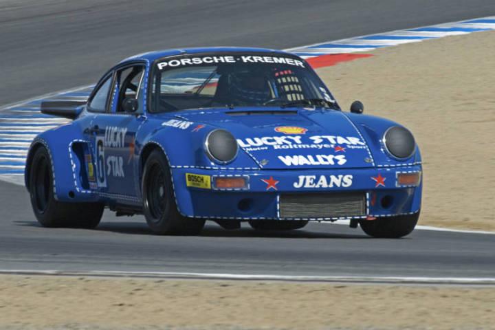 1975 Porsche 911 RSR - Robert Newmann