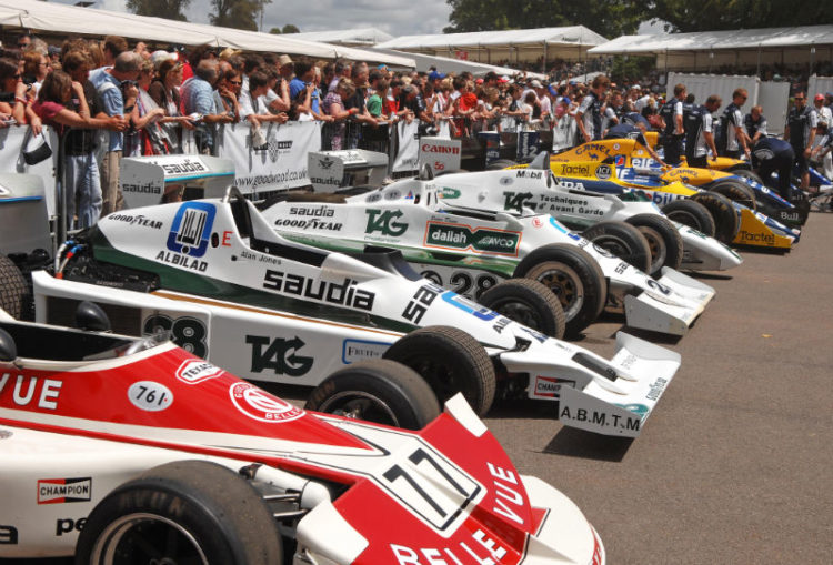 Tribute to Frank Williams and the Williams cars