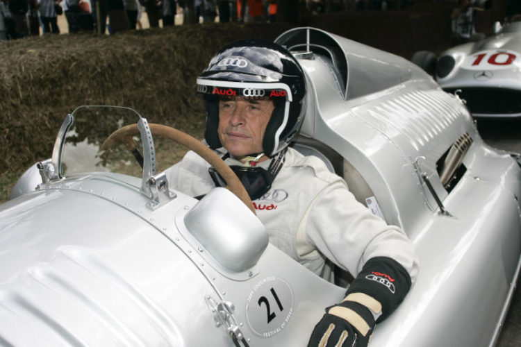Jacky Ickx in the Auto Union Type C