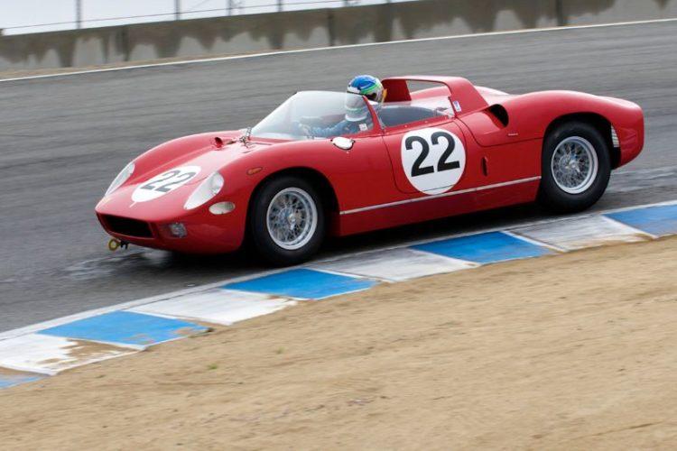 1963 Ferrari 250P driven by Stephen Hill.