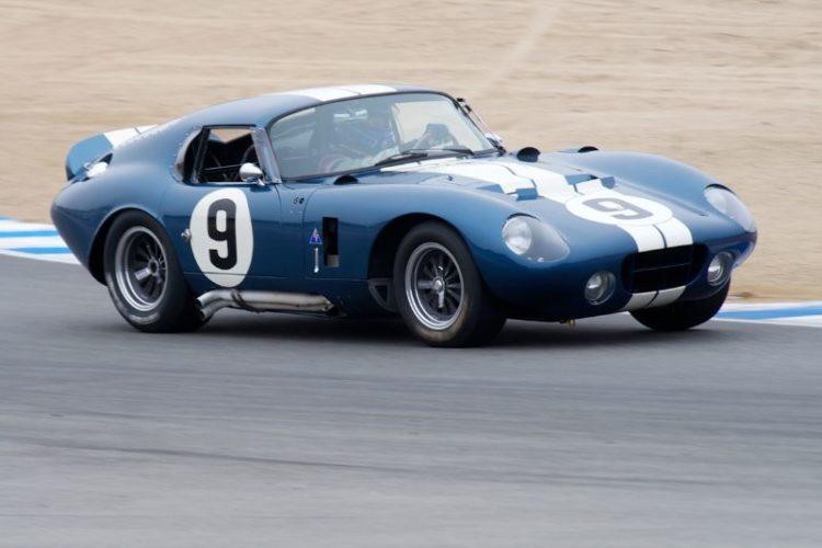 1965 Cobra Dayton Coupe driven by Rob Walton.
