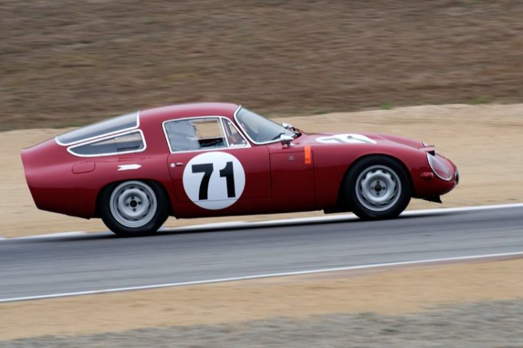 Alan Frick's Alfa Romeo TZ.