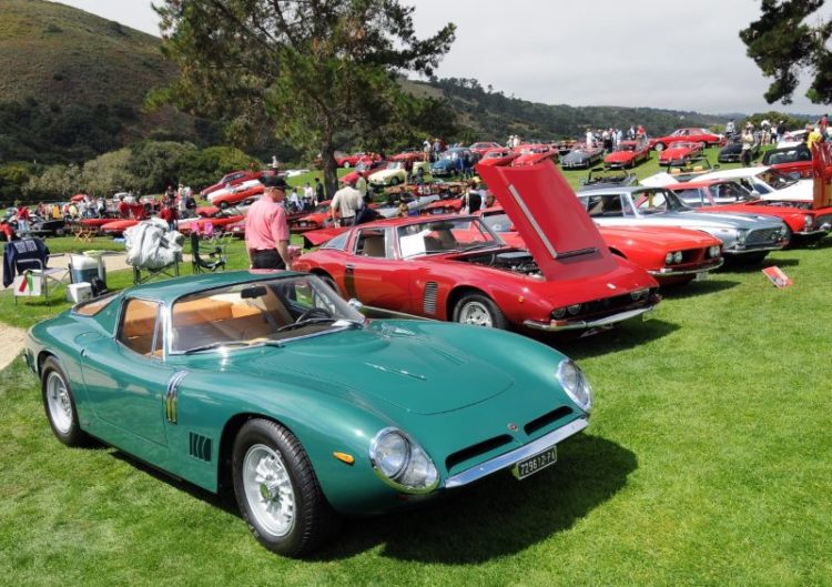 Bizzarrini and Iso line-up