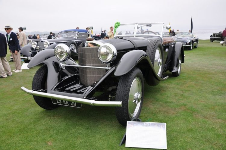 1928 Mercedes-Benz Model S Saoutchik Cabriolet