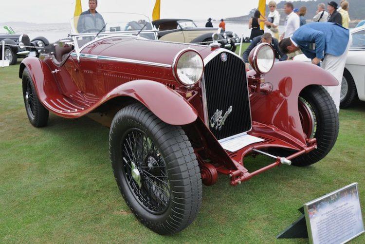 1932 Alfa Romeo 8C 2300 Zagato Spyder