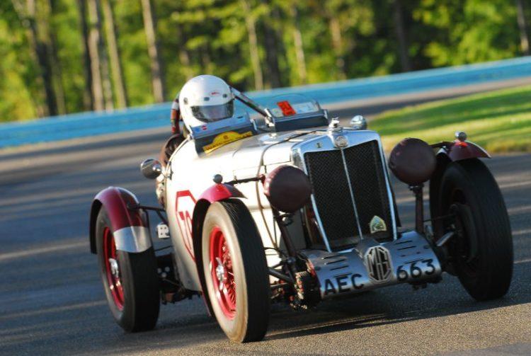 1934 MG-TB of Frank Mount.