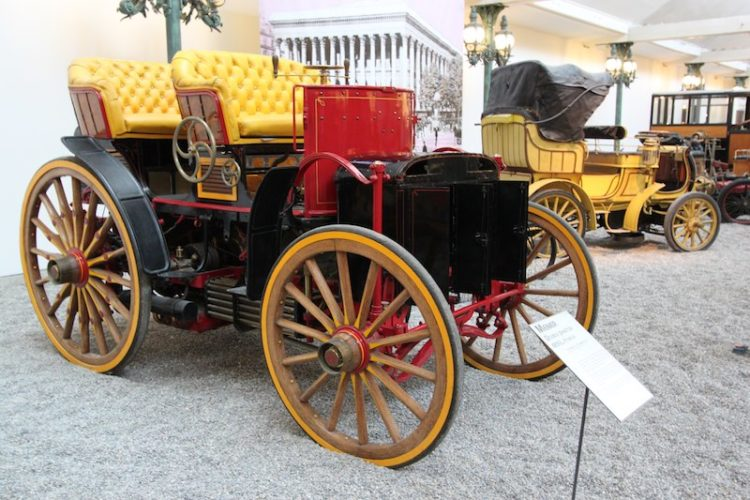 1893 Menier Double Phaeton