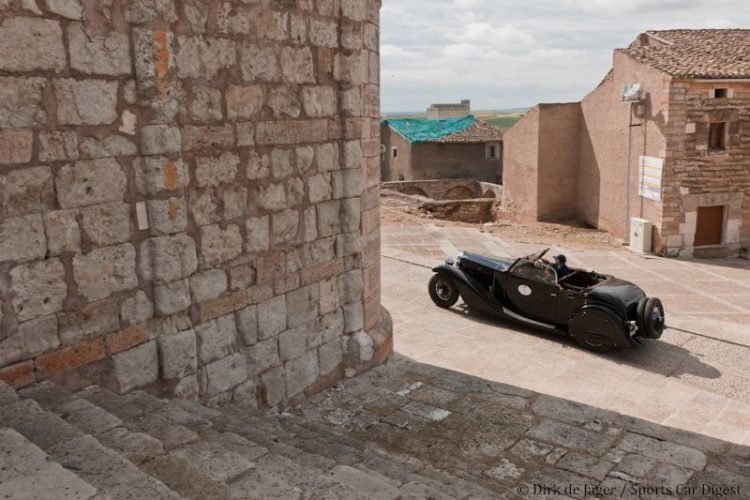 1934 Bugatti T57 Stelvia sn 57258 at Santa Maria de Campo