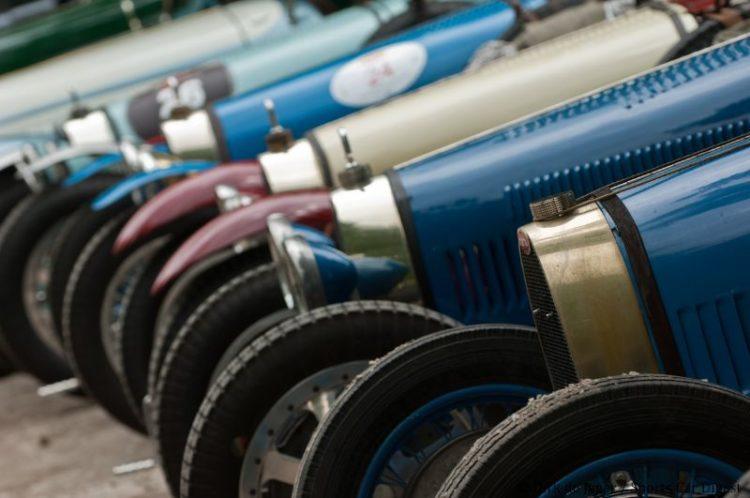 Bugatti T35 Line-up