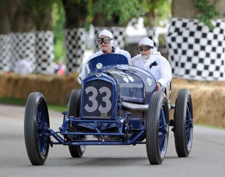 1919 Ballot Indianapolis, first Indy Car powered by straight-eight
