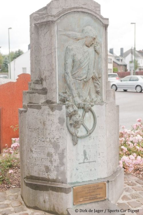 Circuit des Ardennes Monument