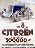 Buy Citroen - Une 8 CV at Art.com