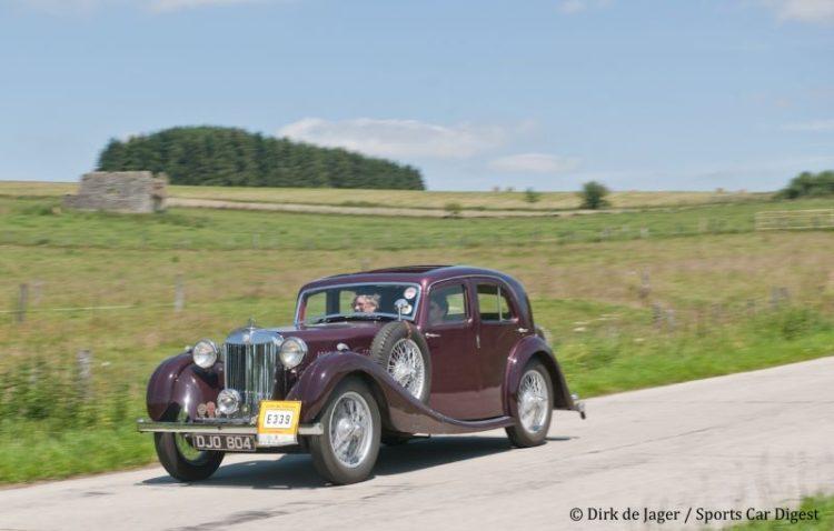 1936 MG VA Saloon