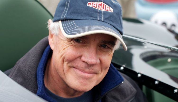 Gregory Johnson, D Type Jaguar driver.
