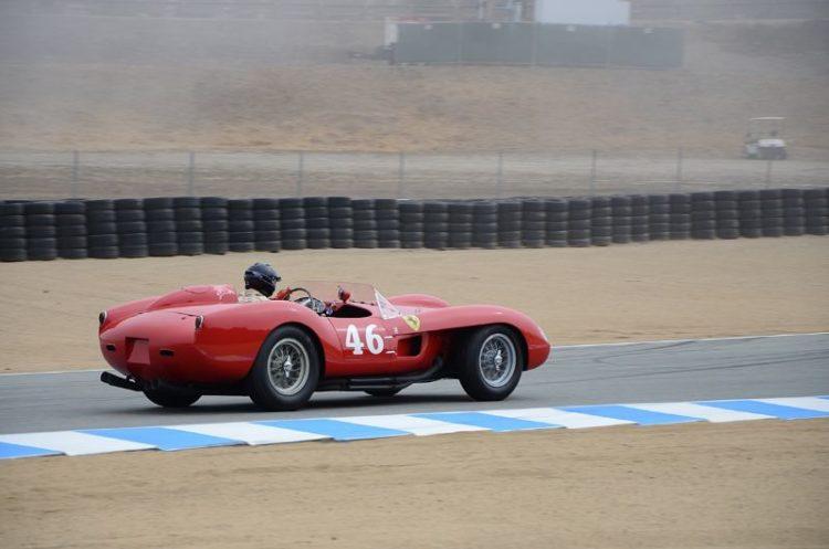 Cris Cox in his 1958 Ferrari 250 TR.