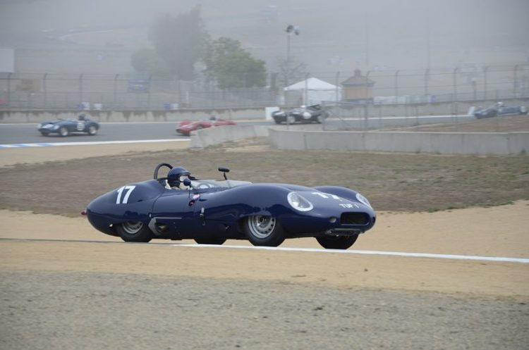 Nick Colonna's 1959 Lister Costin Chevrolet.