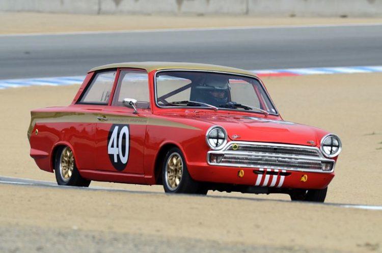 Mitch McCullough, Lotus Cortina.