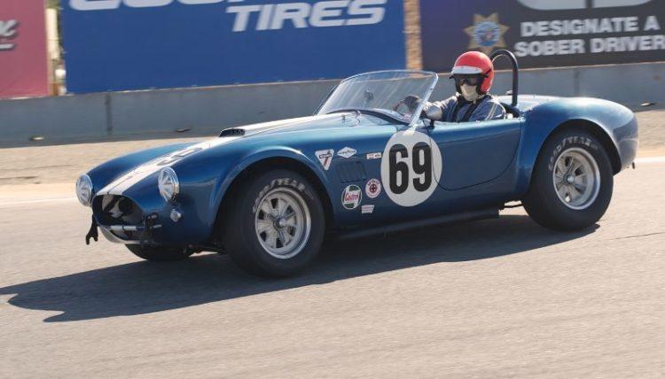 MPH in Nick Colonna's FIA 289 Cobra.