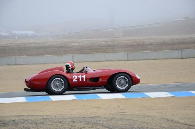 Ferrari 625TRC driven by Michael Callaham.