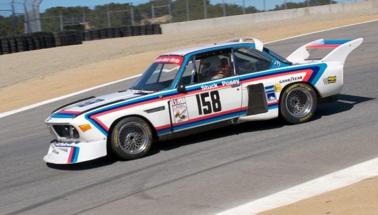 Pre-Reunion, Sunday. Henry Schmidt, BMW 3.5 CSL.