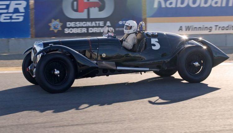 Pre-Reunion, Sunday. 1926 Fraiser Nash Boulogne driven by John Kerridge.