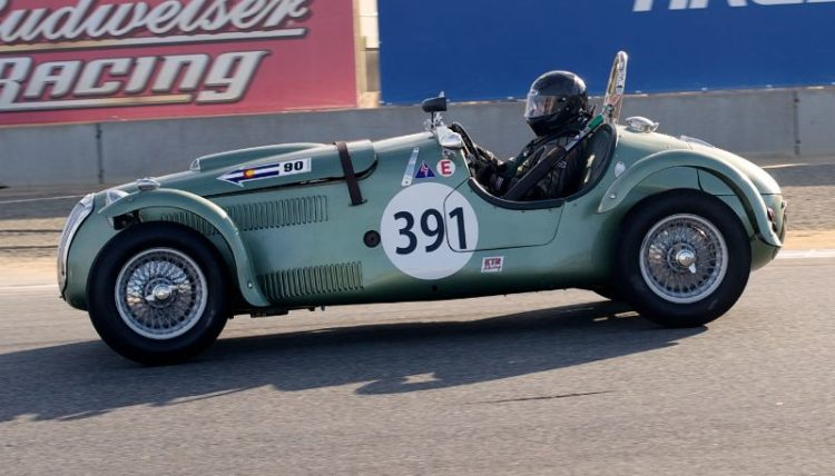 Herb Wetanson's 1951 Frazer Nash Le Mans.