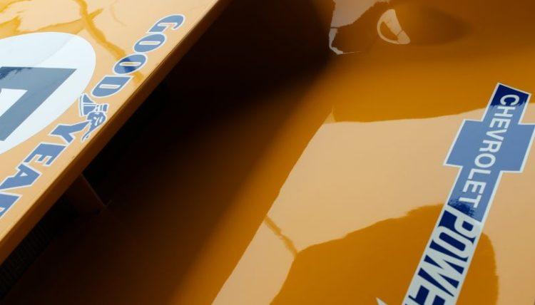 McLaren M8F detail.