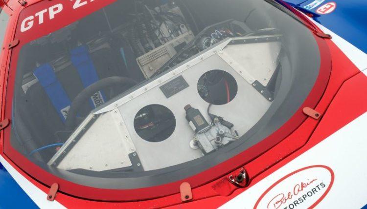 Nissan GTP cockpit.