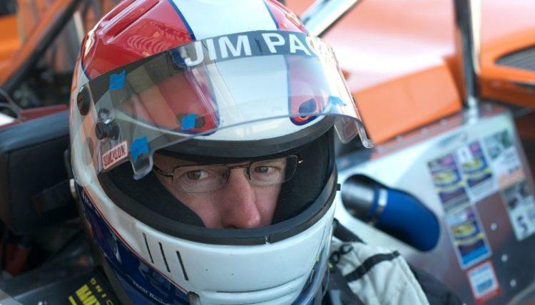 Jim Pace drives a 1966 McLaren M6B.